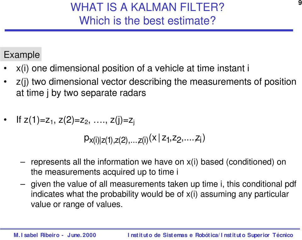 Introduction to Kalman Filtering - PDF