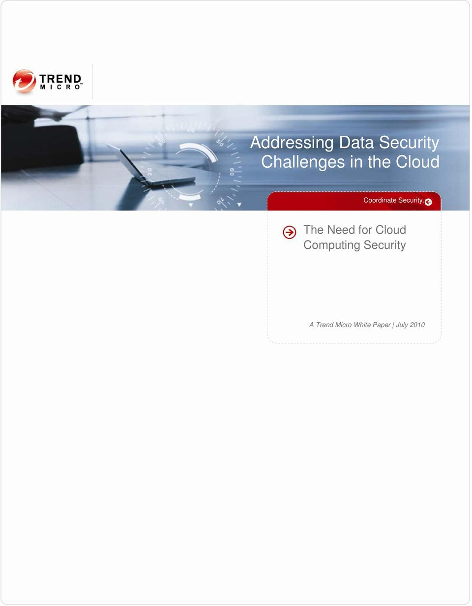 The Need for Cloud Computing
