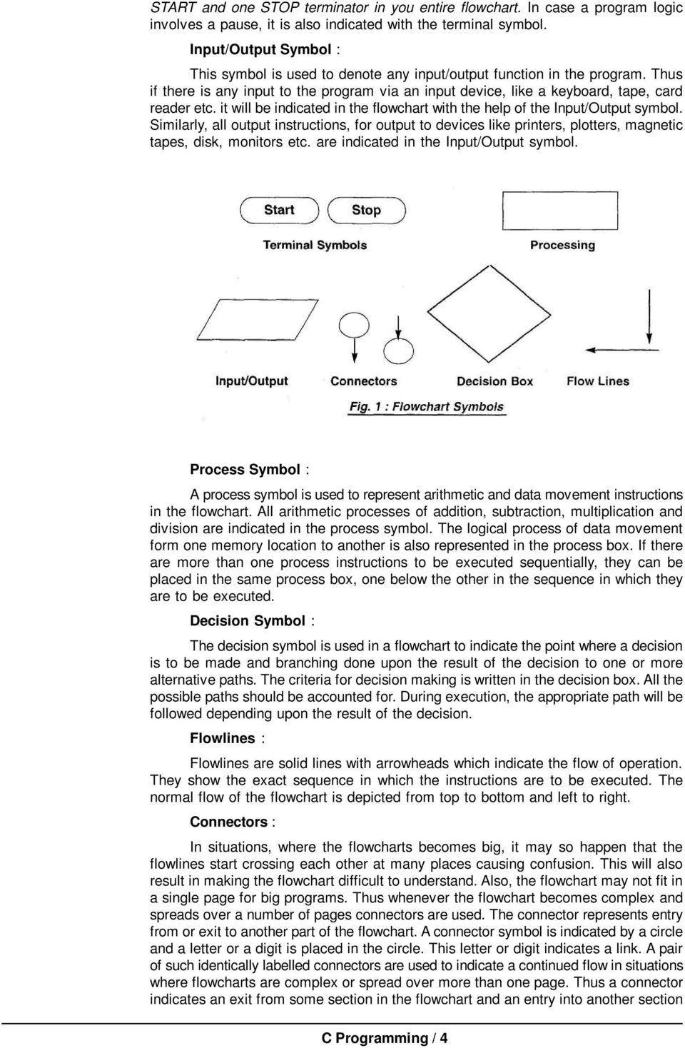 Introduction To Flowcharting Pdf