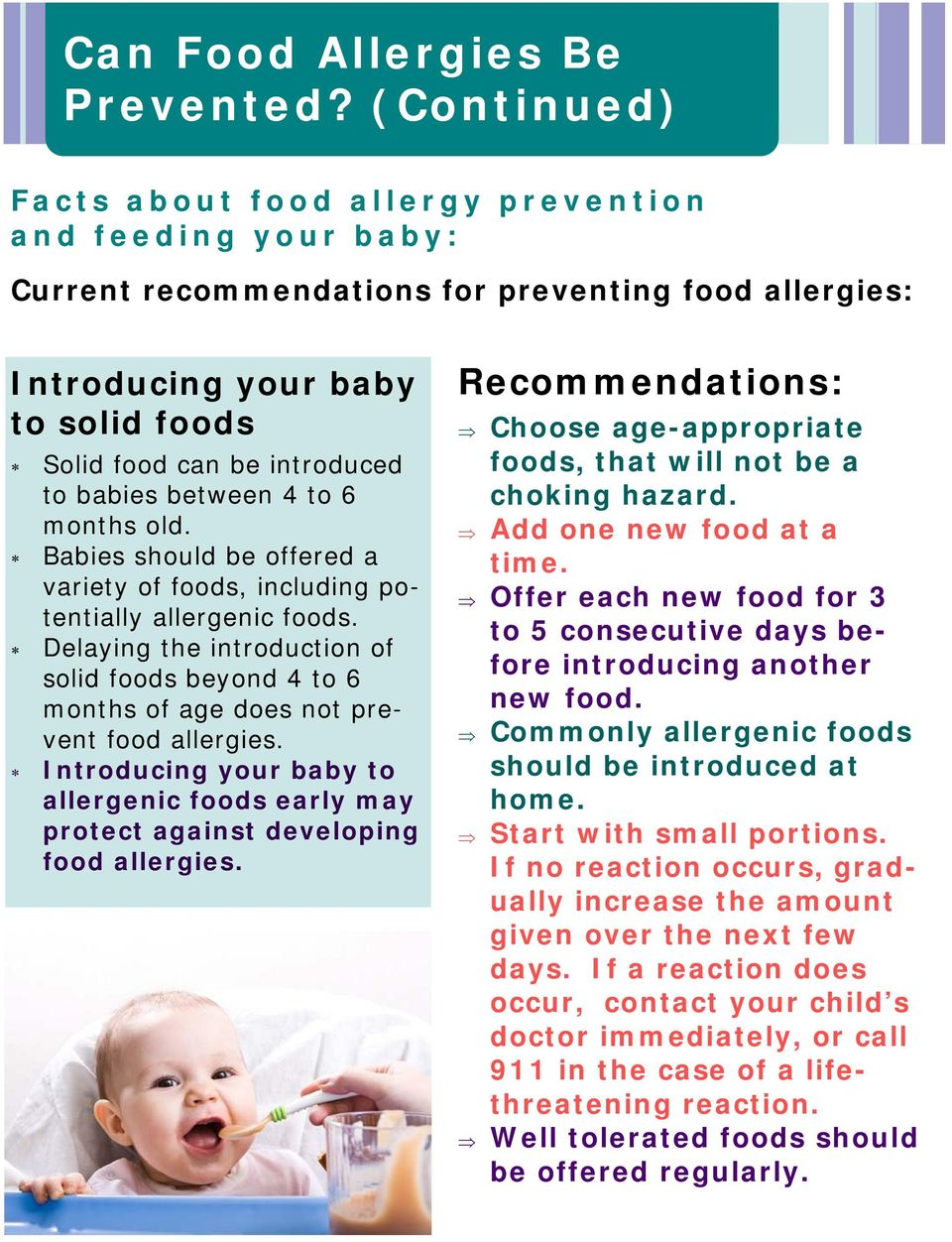 Food Allergy Action Month - PDF