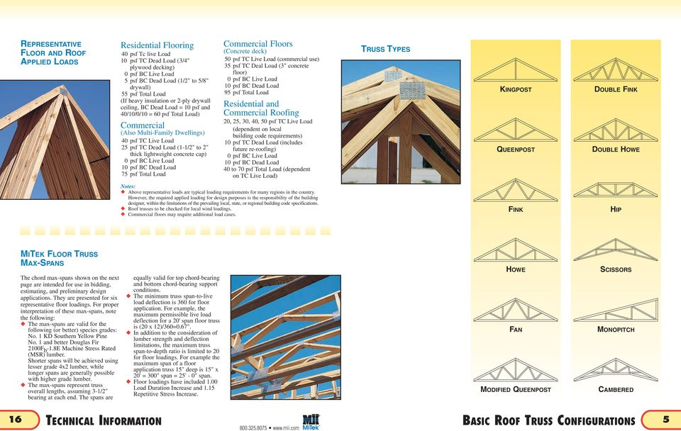 ROOF AND FLOOR TRUSS MANUAL - PDF