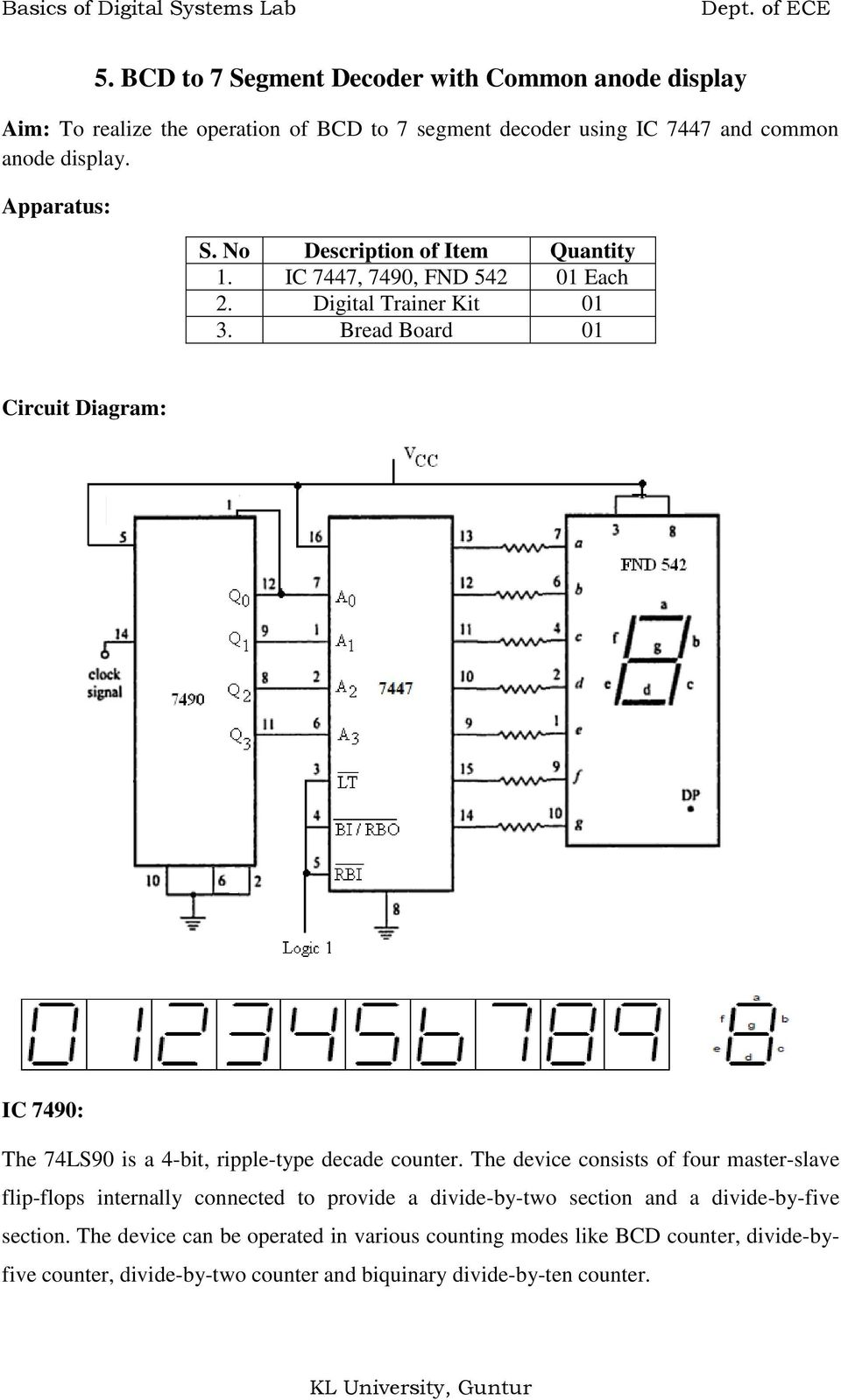logic diagram of ic 7447 wiring diagram variable 7447 Data Sheet