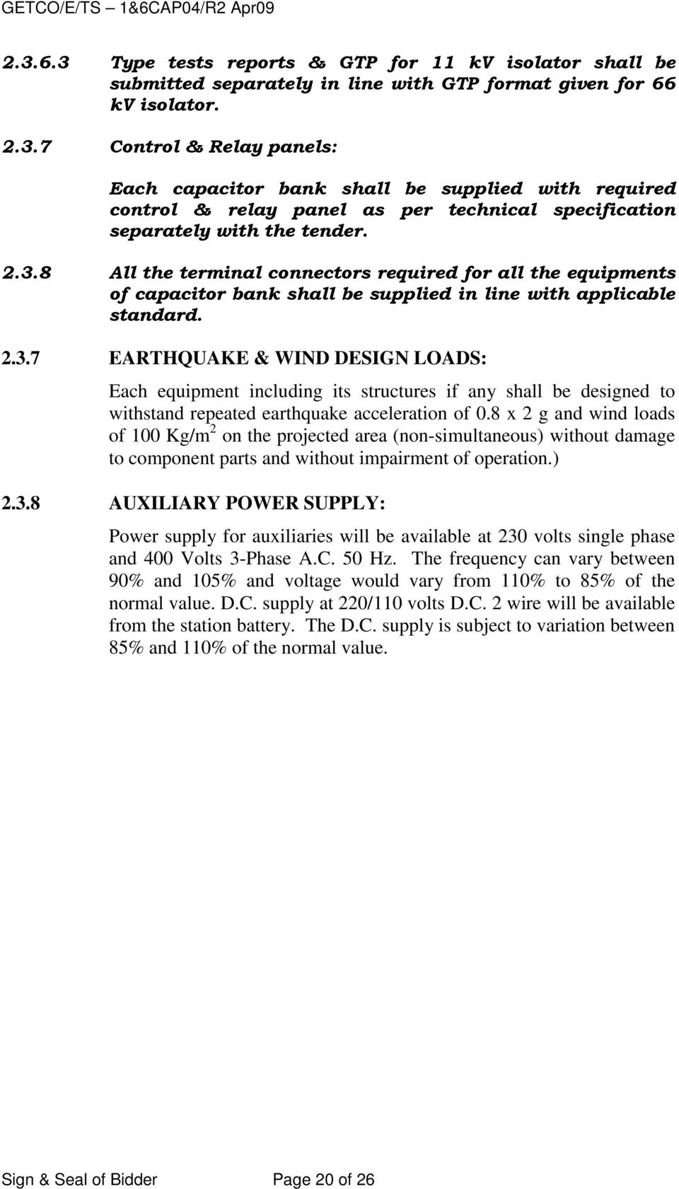 11 Kv 66 Static Shunt Capacitor Bank Pdf Show The Schematic Diagram Of Series And 8 X 2 G Wind Loads 100 Kg M On Projected