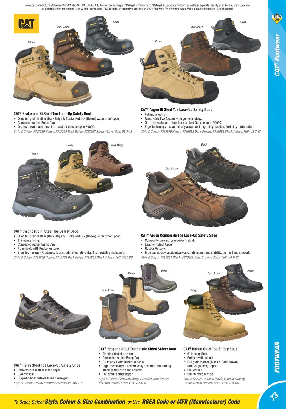Footwear Australian New Zealand Standards 58 Preventing Cut Engineer Safety Boots Iron Hiking Pu Leather Black And May Not Be Used Without Permission Rcg Brands An Authorized Distributor Of Cat
