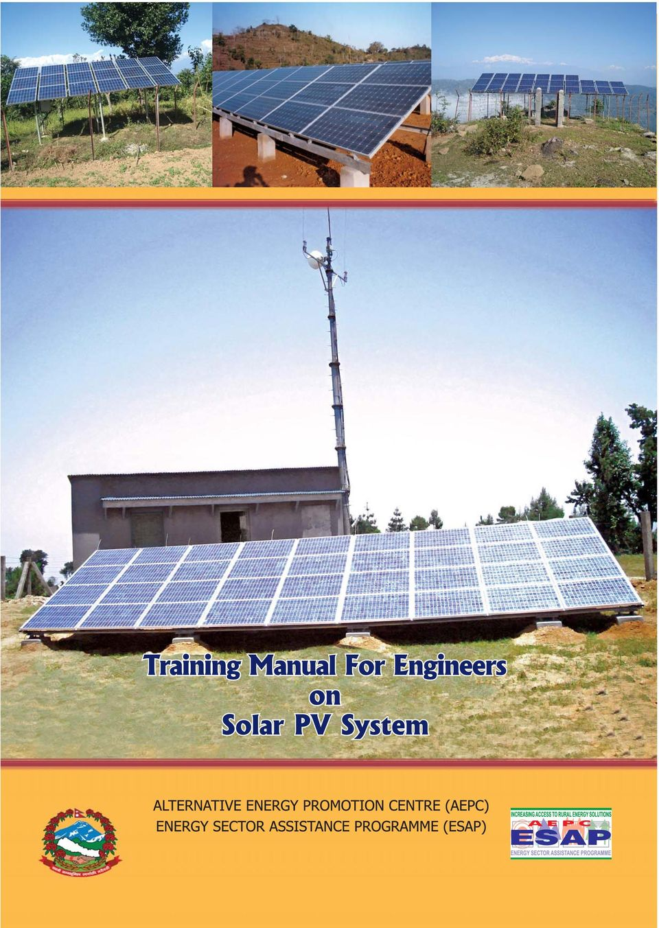 [Ebook Điện Mặt Trời ] : Training Manual for Engineers on Solar PV System