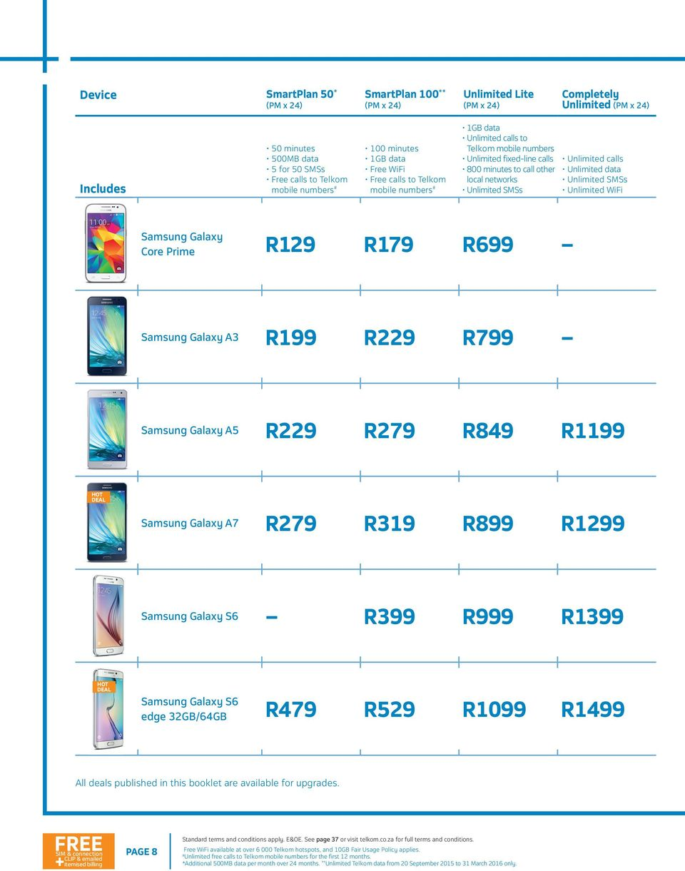 Summer Unlimited Baby Huawei P8 Lite Smartplan 50 R149 Pm X 24 Includes 75mb Minutes Data Free Calls To Telkom Mobile Numbers Pdf Free Download