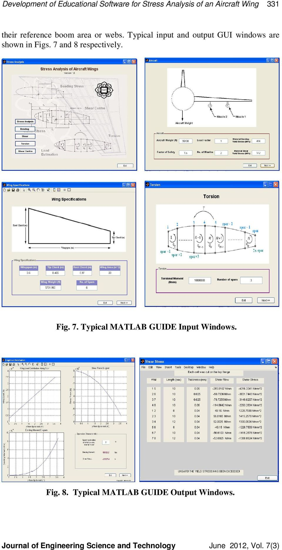 DEVELOPMENT OF EDUCATIONAL SOFTWARE FOR STRESS ANALYSIS OF AN