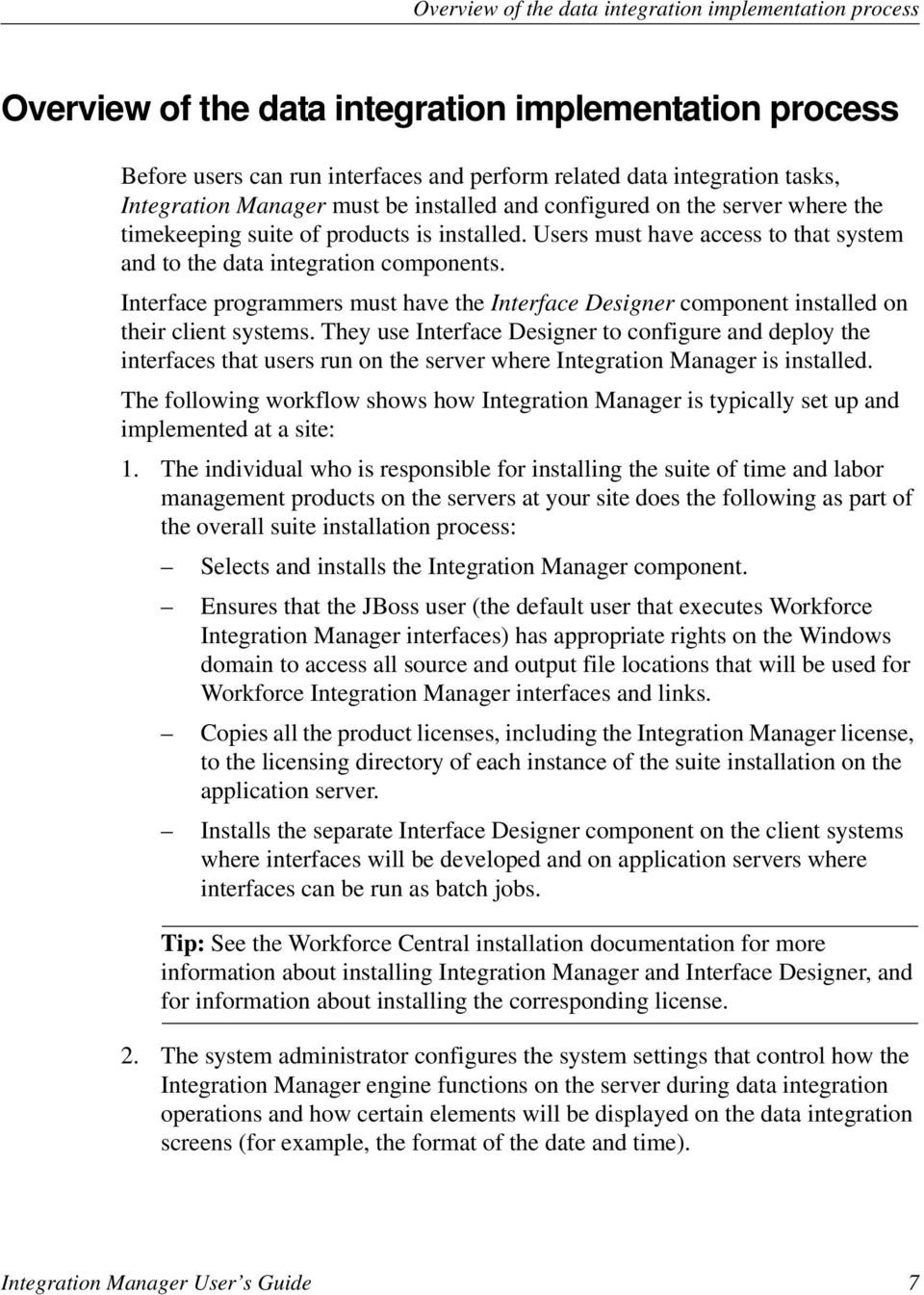 Workforce Integration Manager User S Guide Pdf