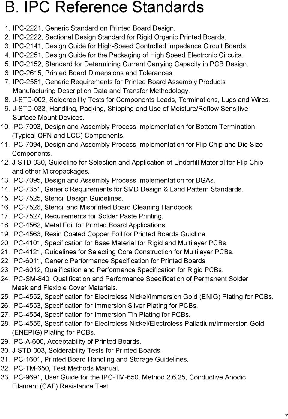 Ipc Checklist For Producing Rigid Pcbas Pdf Printed Circuit Board Assembly On Global Sources 2152 Standard Determining Current Carrying Capacity In Pcb Design 6