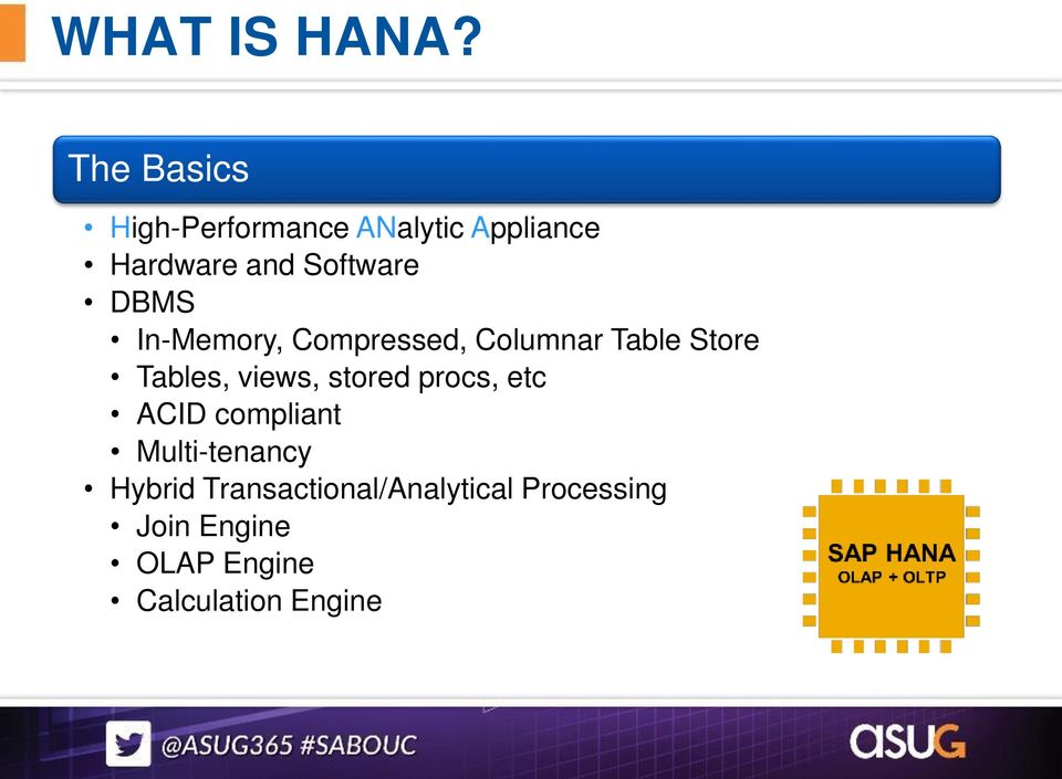 Bruce Labbate Non-SAP Data Warehousing in SAP HANA Session PDF