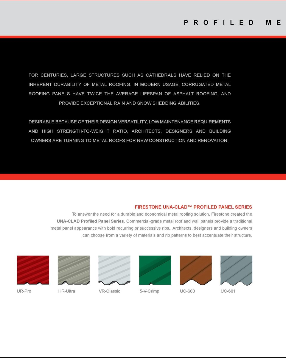 Una Clad Metal Roofing Systems Versatile Sustainable Beautiful Pdf Free Download