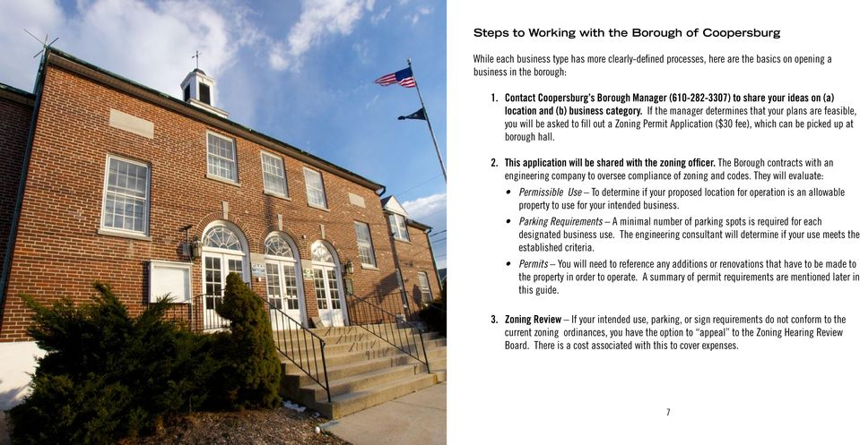 Your Guide to Opening or Growing a Business    in Historic