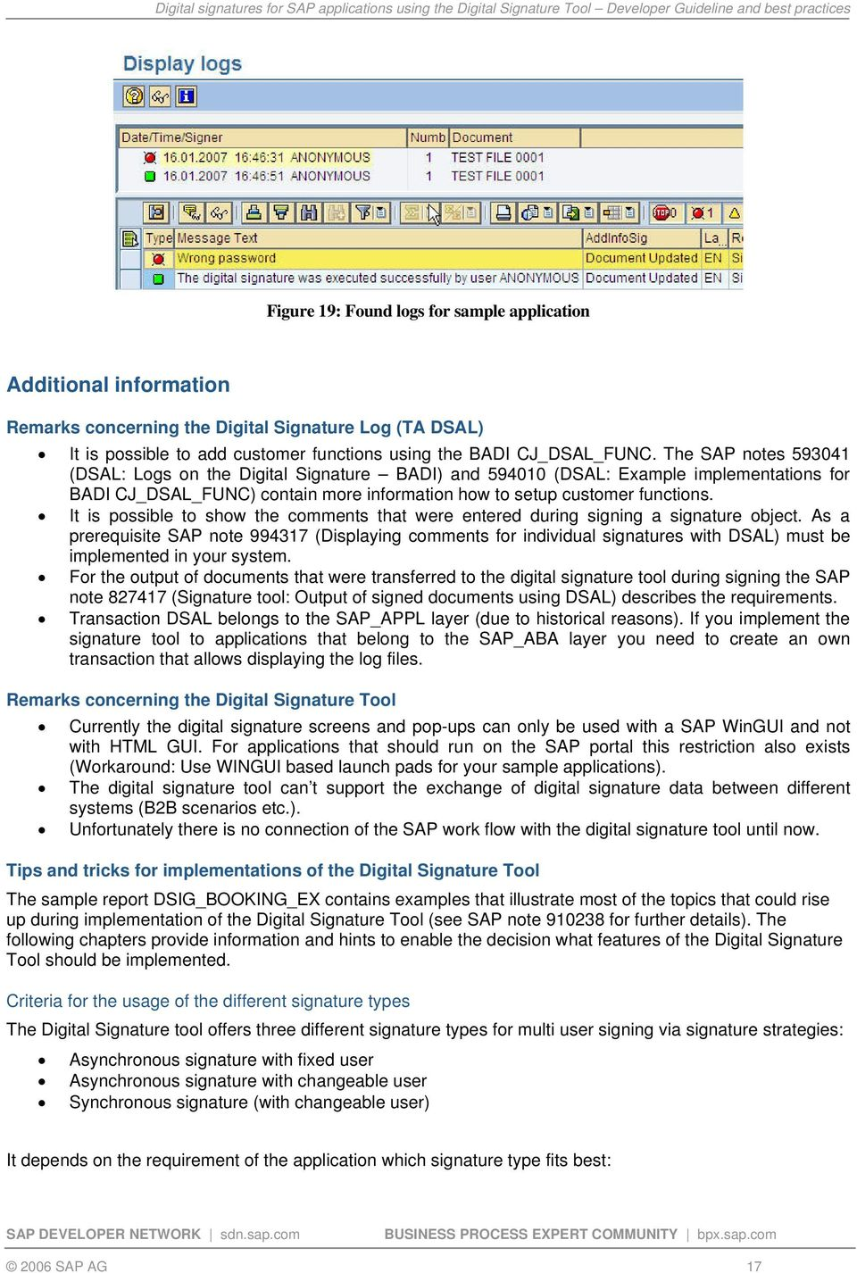 digital signature on all pages pdf