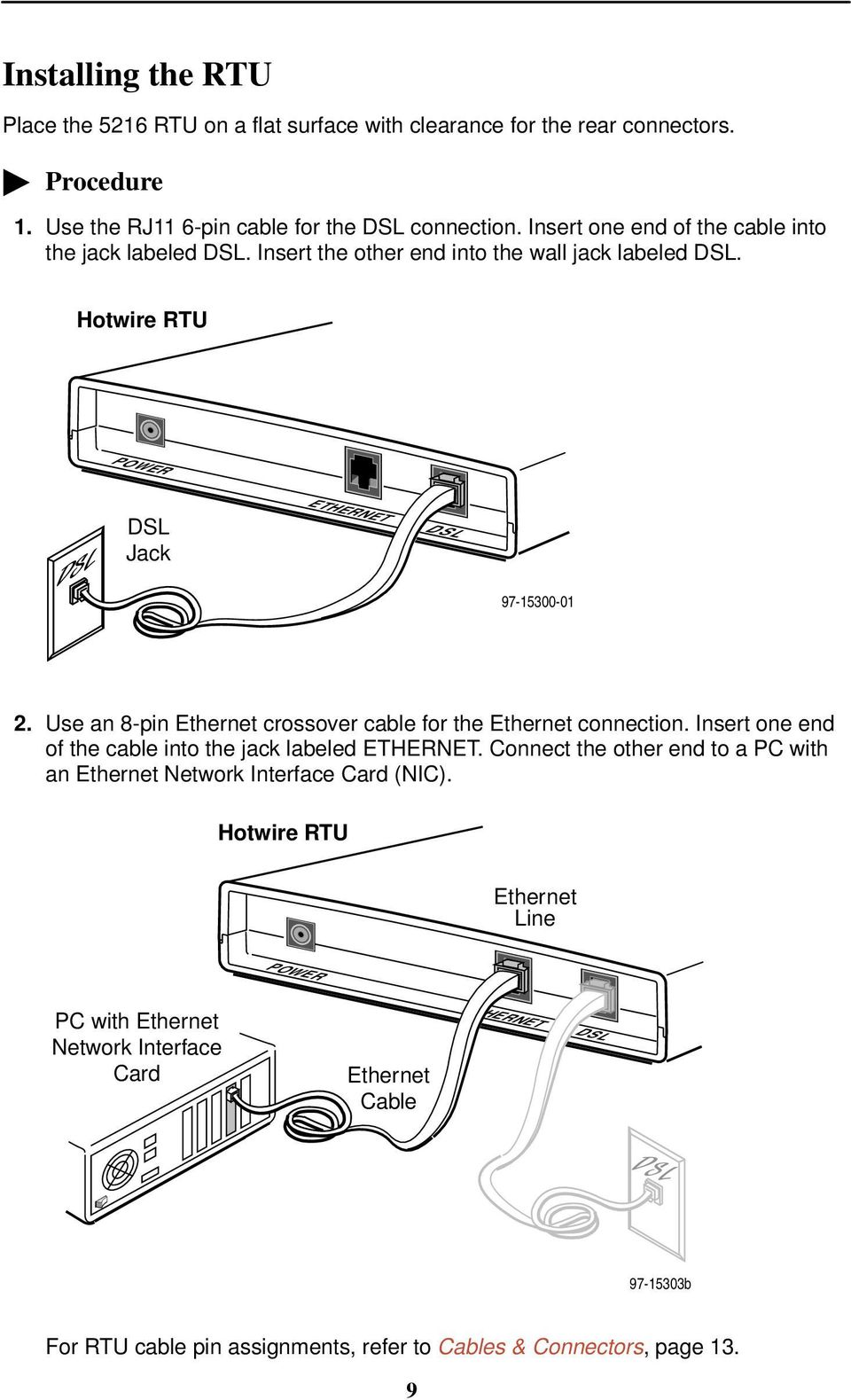 Ethernet Wiring Diagram Tia 568 And T1e1 Detailed Diagrams Cat5 Hotwire 5216 Remote Termination Unit Rtu Customer Premises