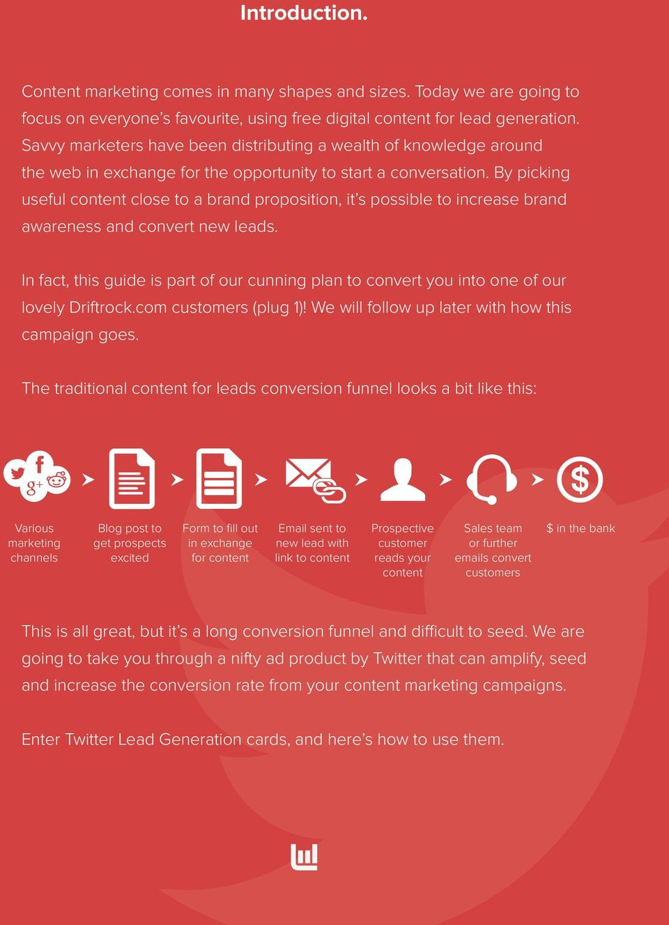 By picking useful content close to a brand proposition, it s possible to increase brand awareness and convert new leads.