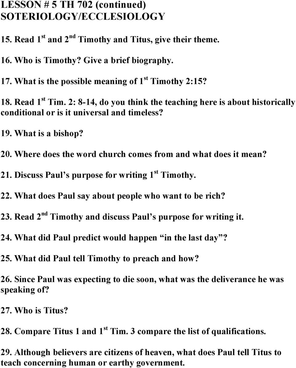 Where does the word church comes from and what does it mean? 21