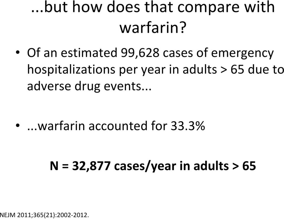 year in adults > 65 due to adverse drug events.