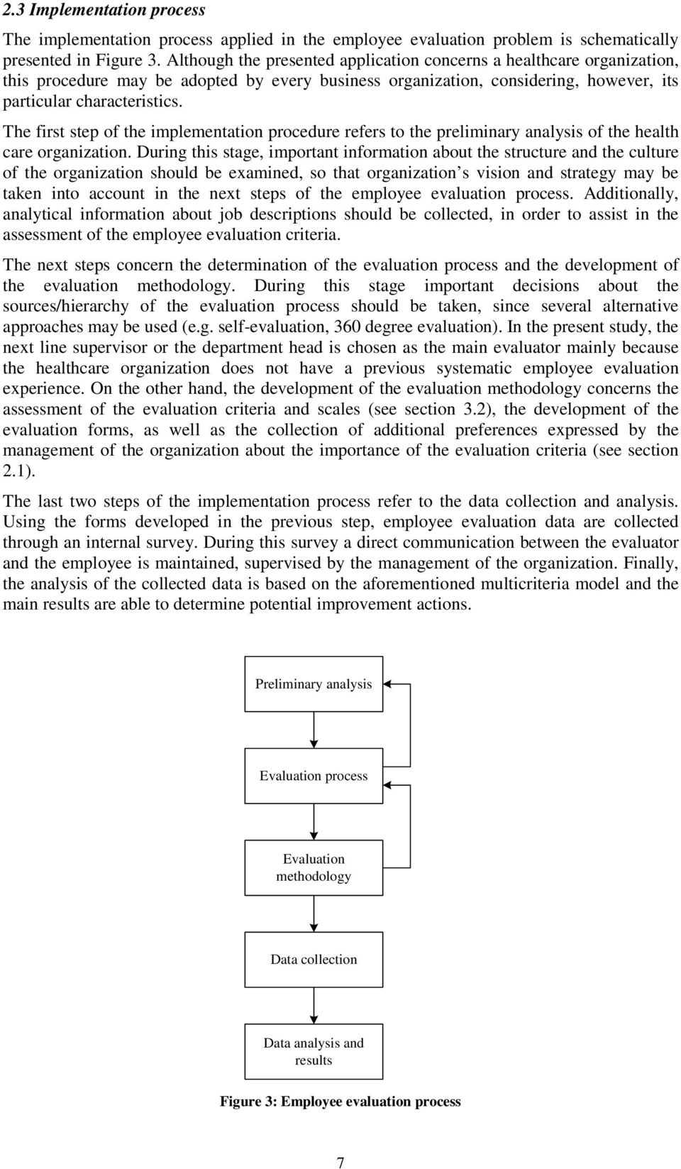 Developing an Employee Evaluation Management System: The Case of a
