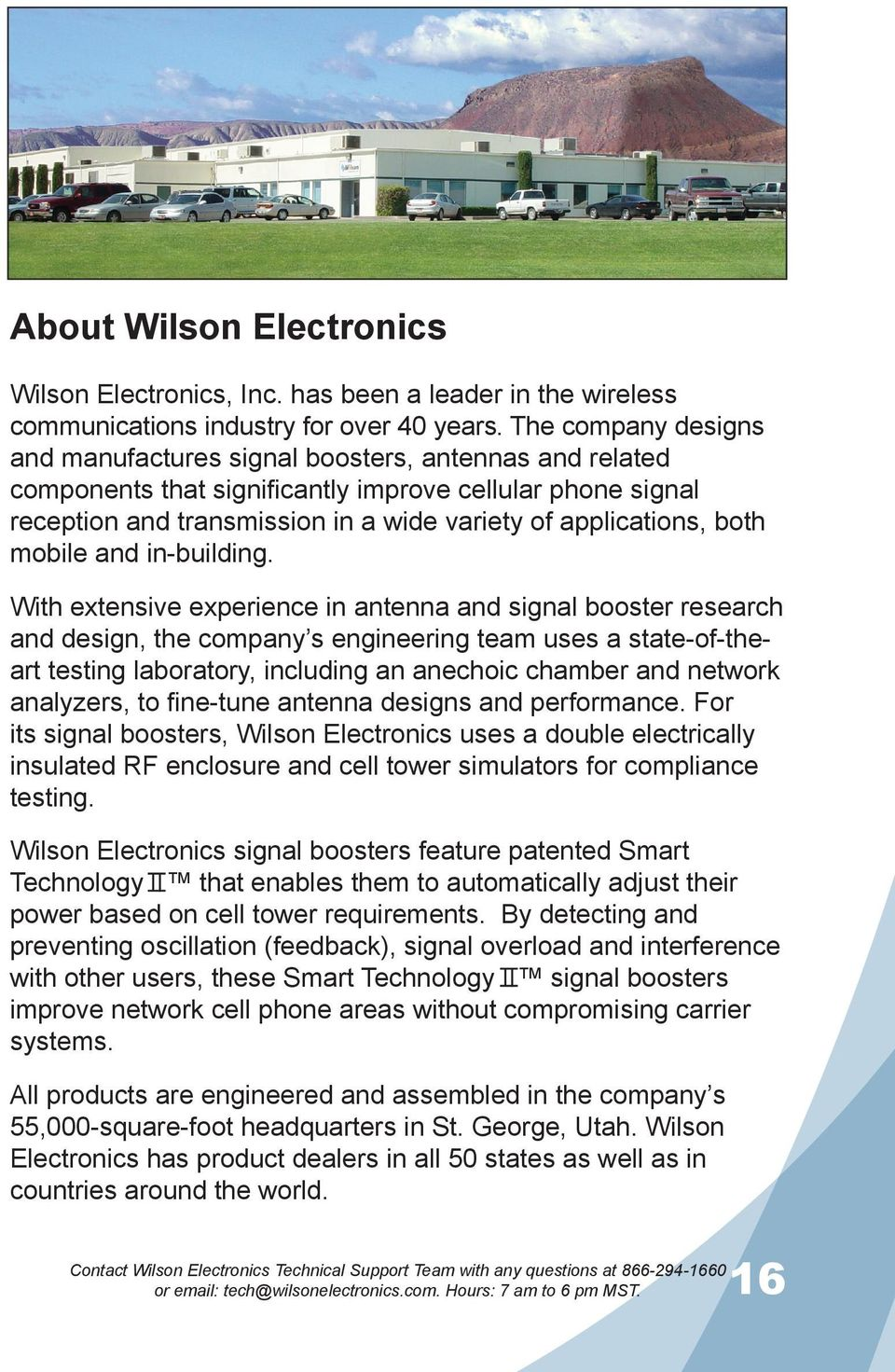 Guide Installation Wilson Electronics Inc Adjustable Gain Signal Accessories Fm 180 Both Mobile And In Building