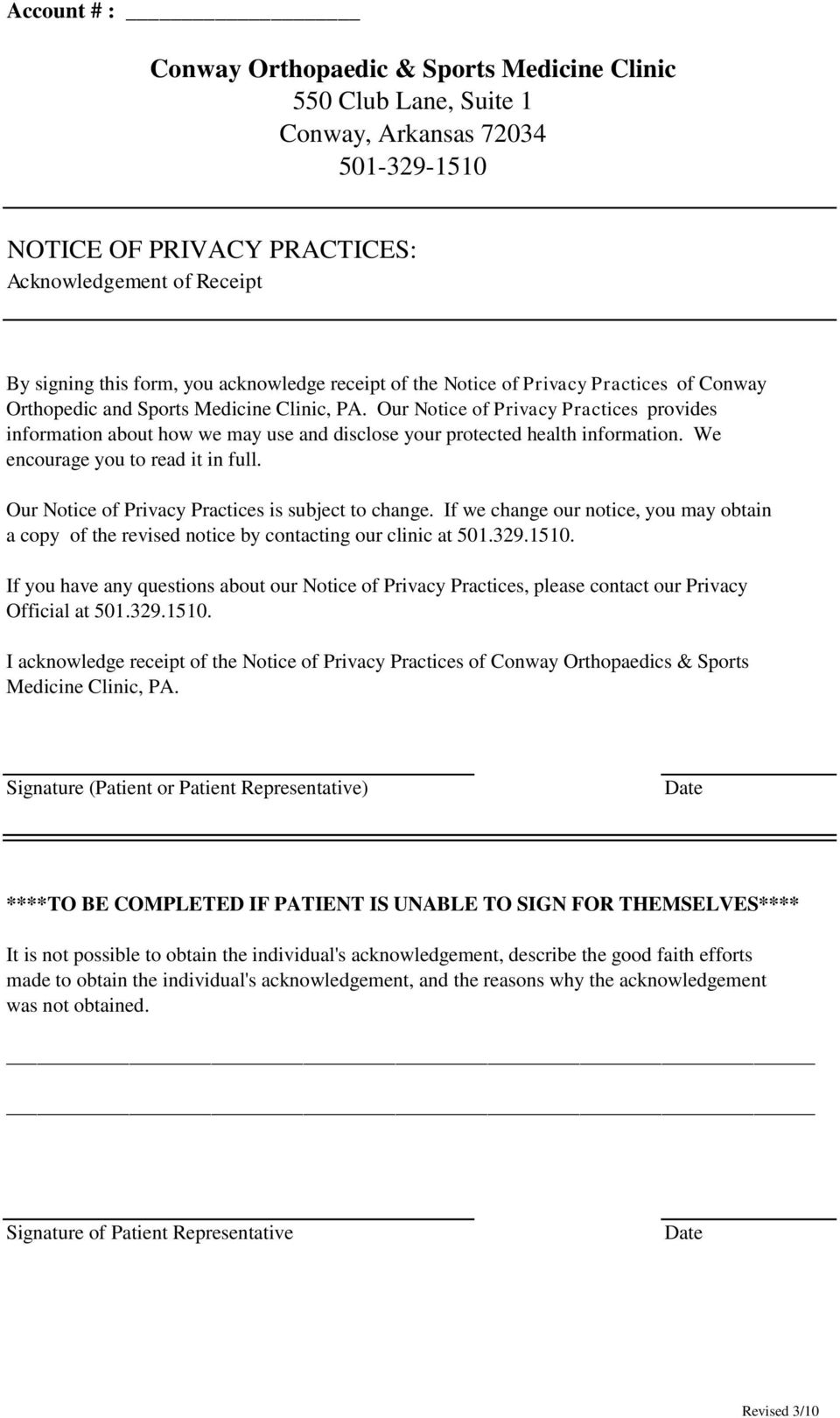 Our Notice of Privacy Practices provides information about how we may use and disclose your protected health information. We encourage you to read it in full.