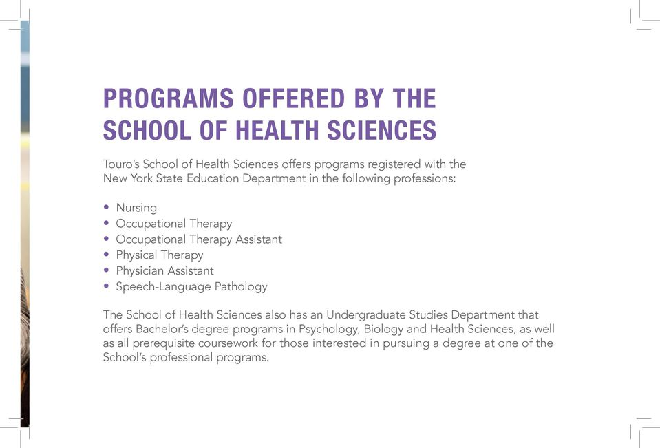 Physician Assistant Programs In Ny >> Occupational Therapy Program Pdf