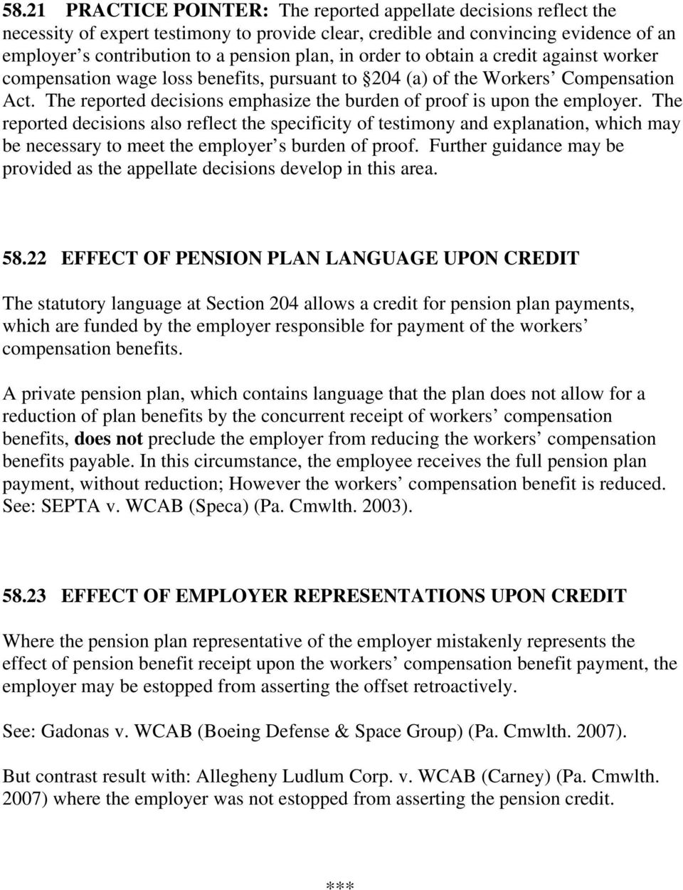 PENSION OFFSETS IN WORKERS COMPENSATION - PDF