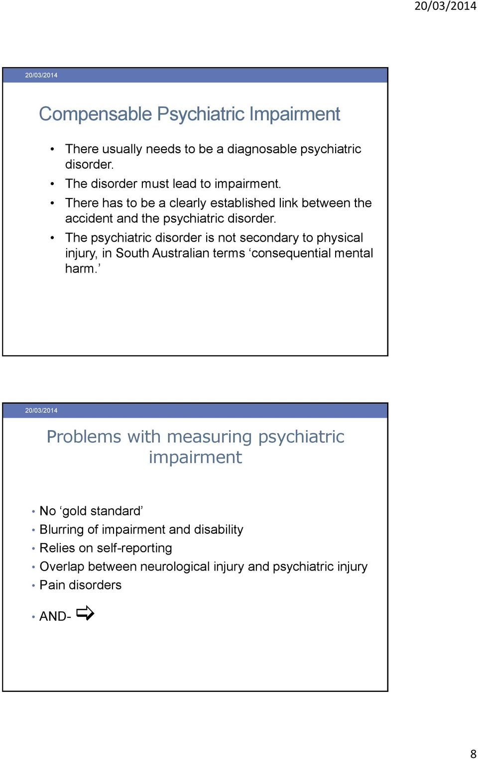 Psychosexual disorder va rating