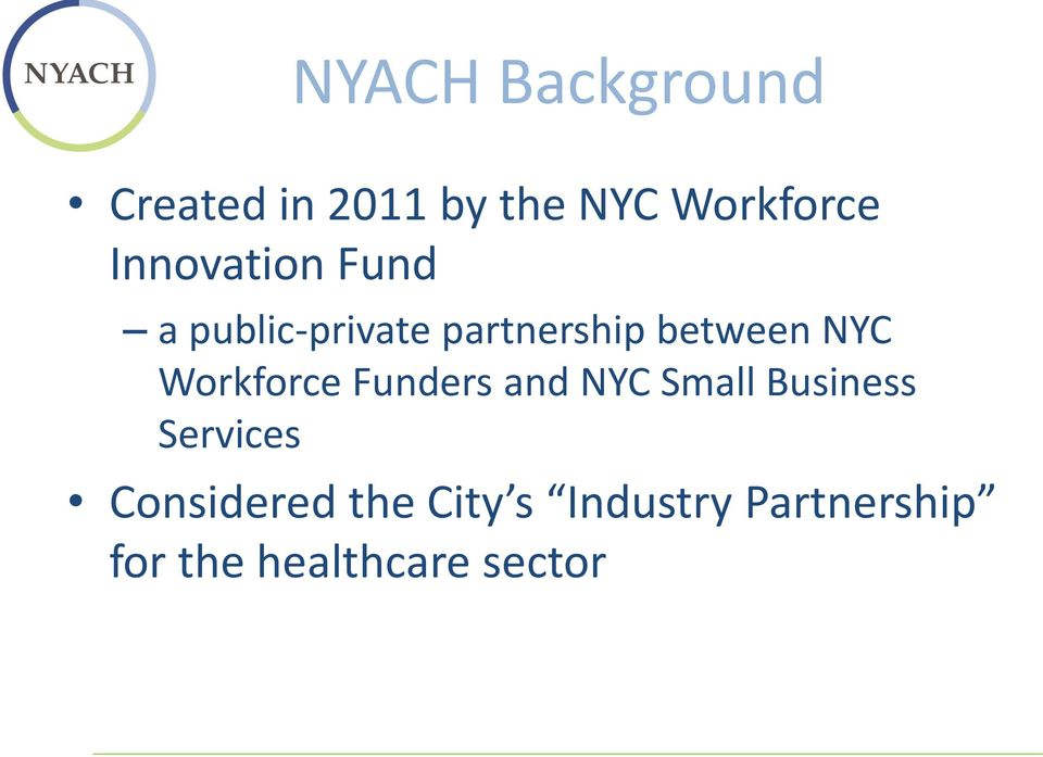 Workforce Funders and NYC Small Business Services