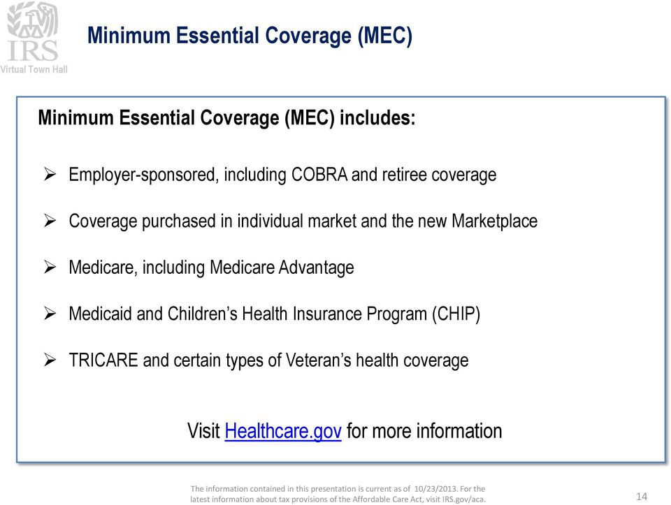 Marketplace Medicare, including Medicare Advantage Medicaid and Children s Health Insurance