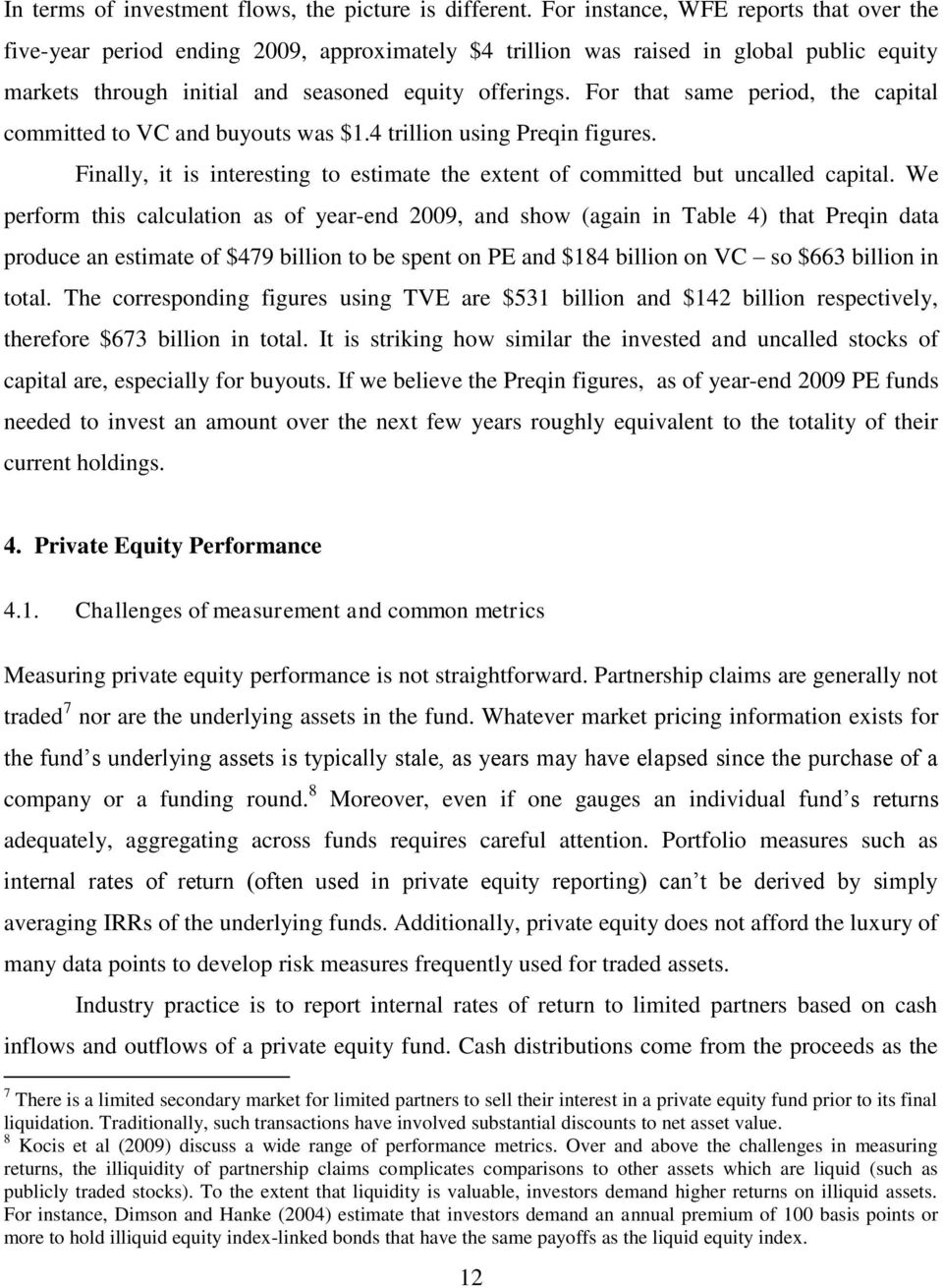 A White Paper on Private Equity Data and Research - PDF