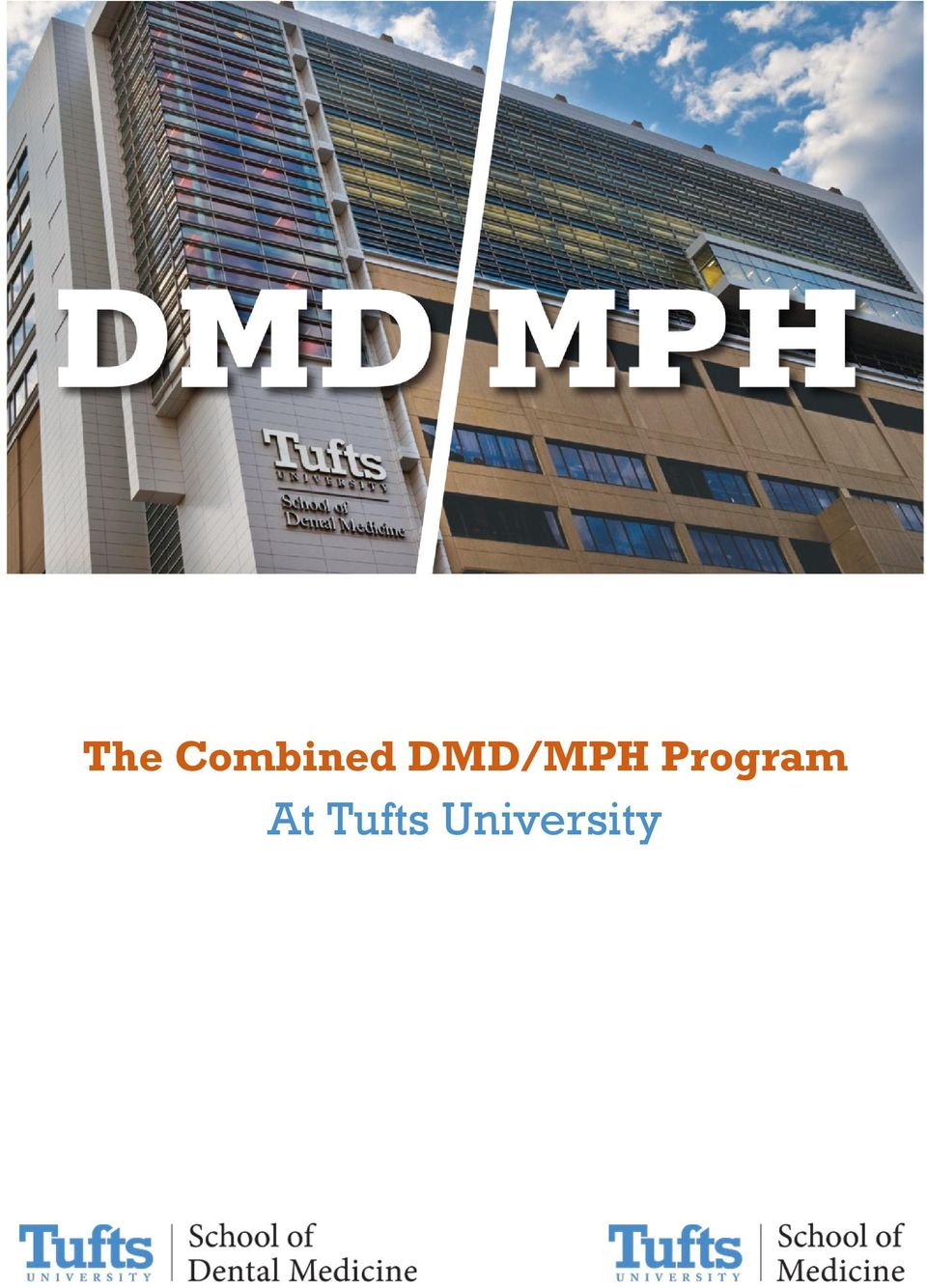 The Combined DMD/MPH Program  At Tufts University - PDF