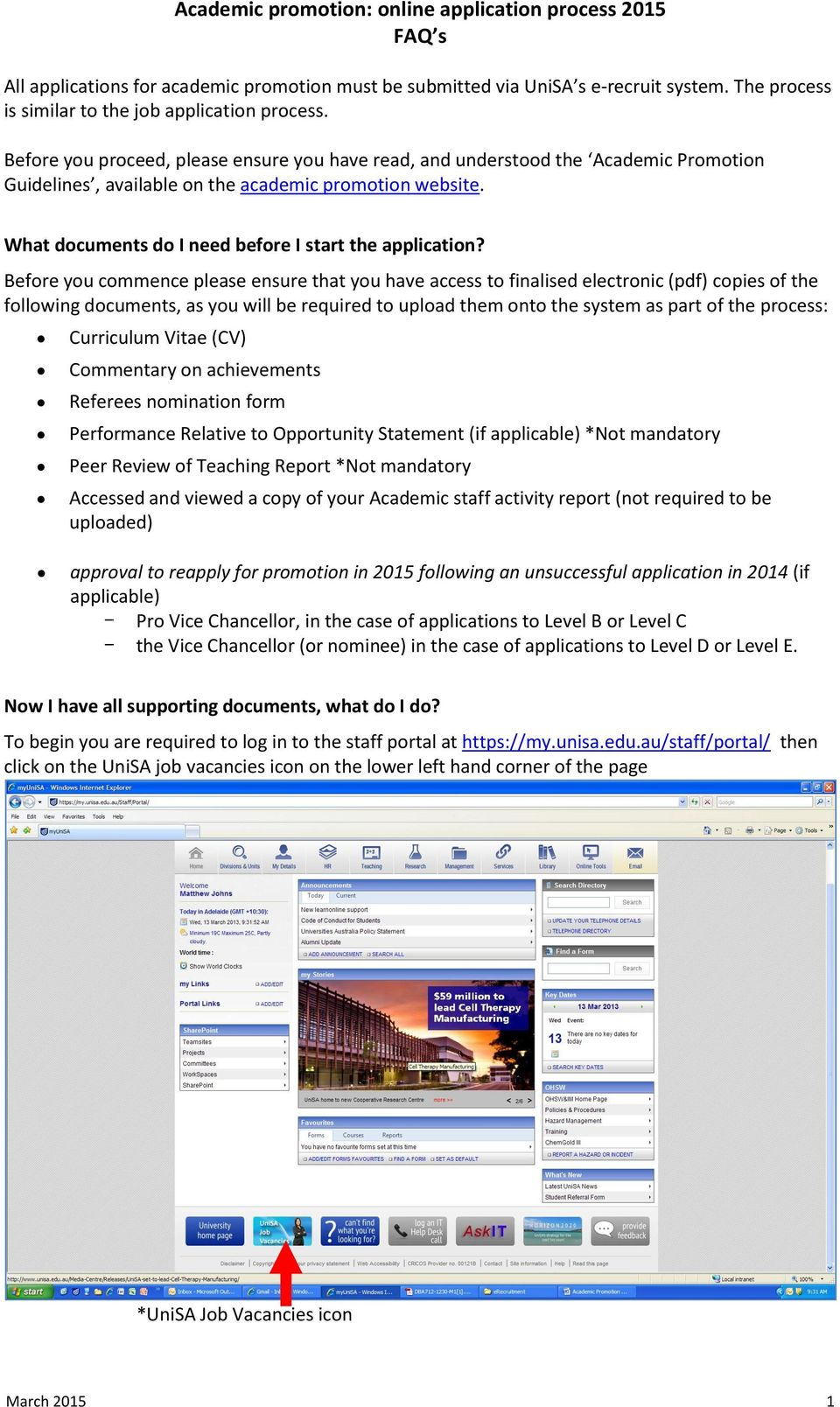 Academic Promotion Online Application Process 2015 Faq S Pdf Camera Circuit Board Promotiononline Shopping For Promotional Before You Commence Please Ensure That Have Access To Finalised Electronic Copies