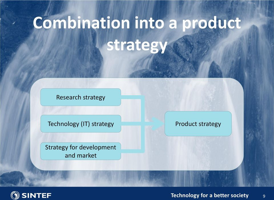 strategy Product strategy Strategy for