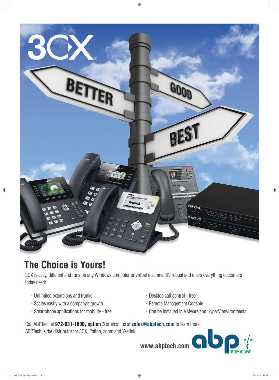Drill Down  3CX has been at the forefront of WebRTC  3CX Phone