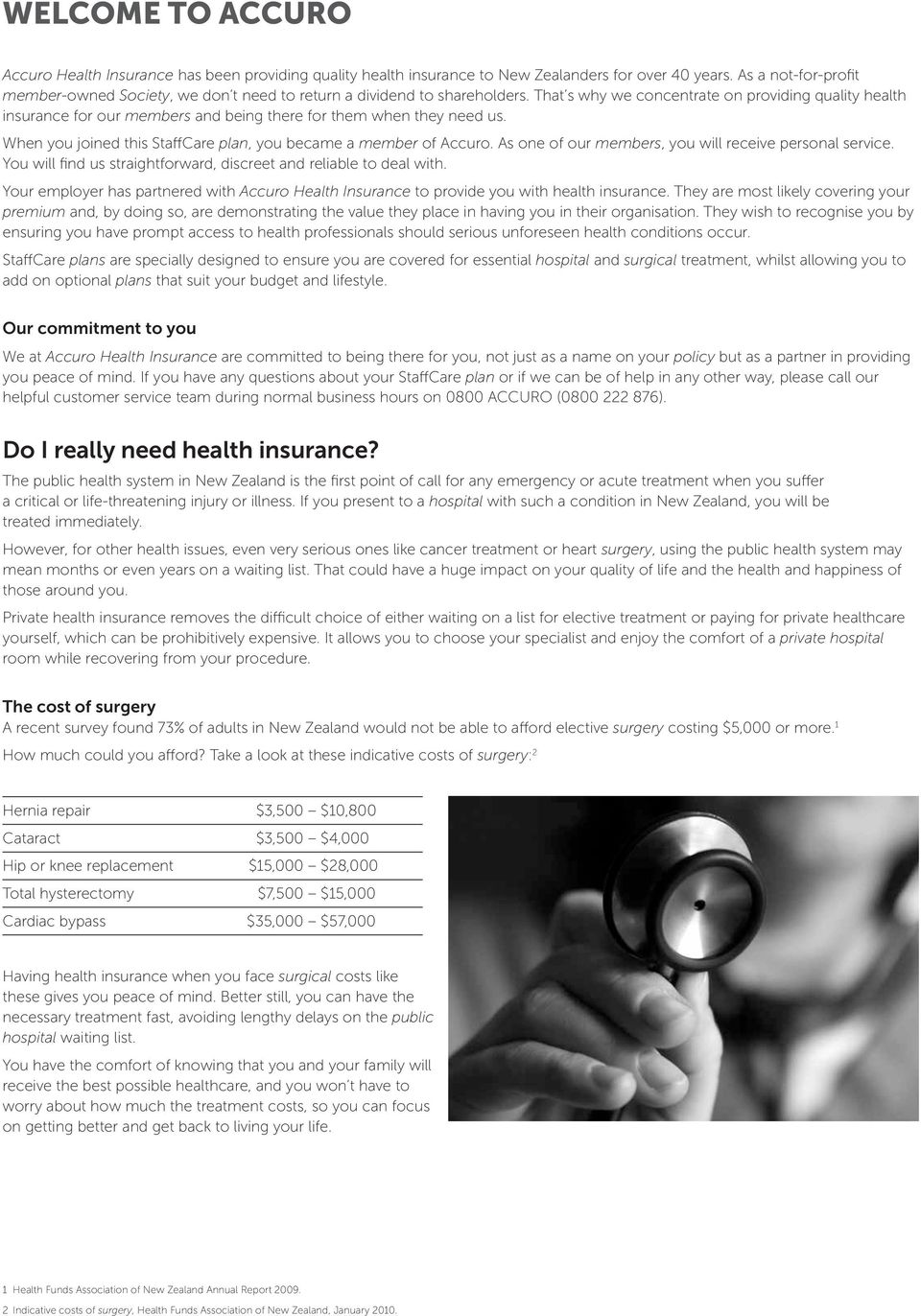 Health insurance policy document - PDF