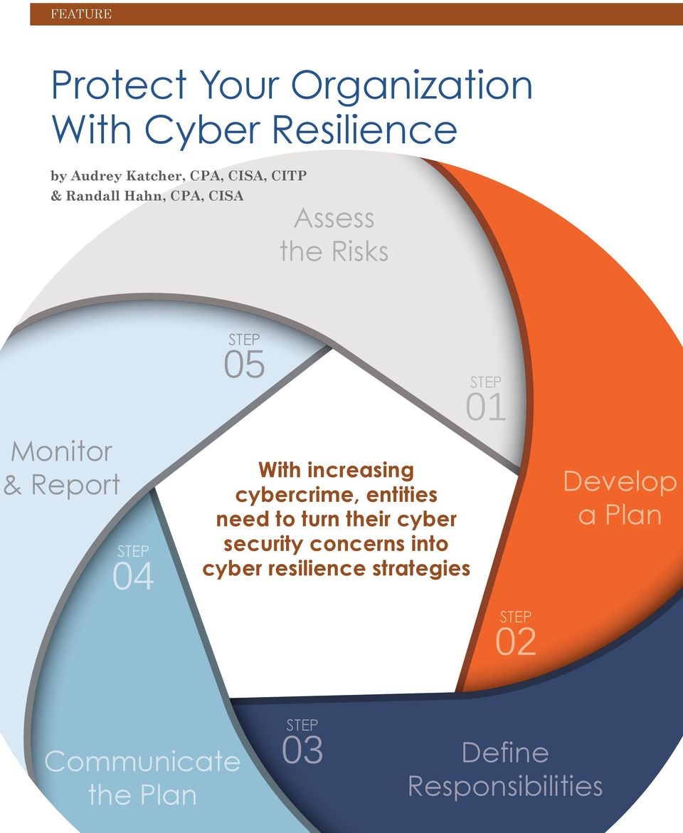 increasing cybercrime, entities need to turn their cyber security concerns into cyber