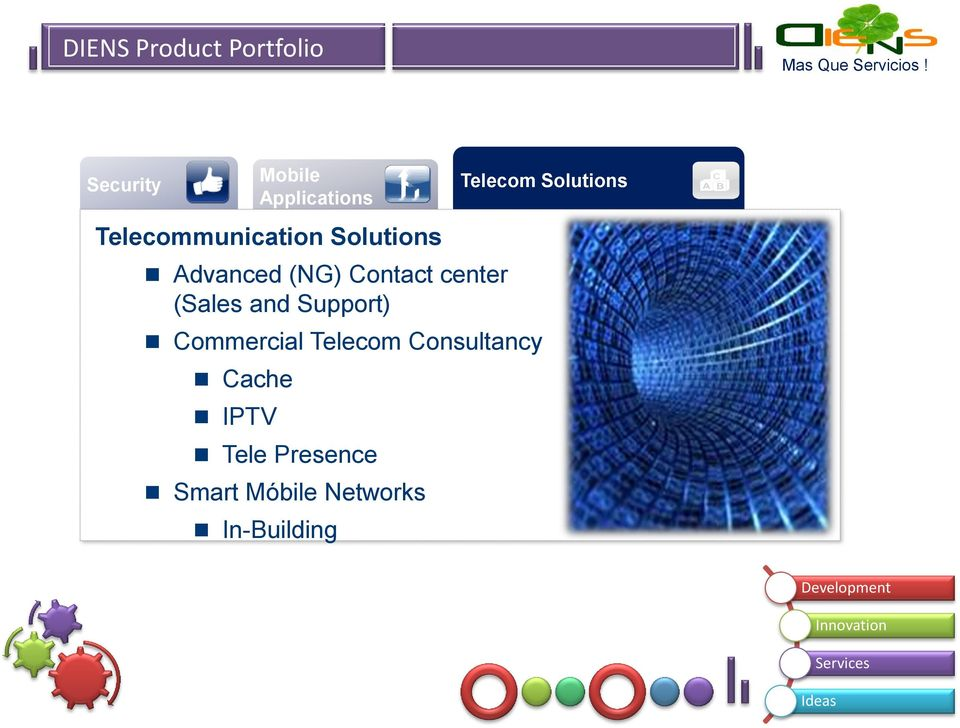 (Sales and Support) Commercial Telecom Consultancy Cache