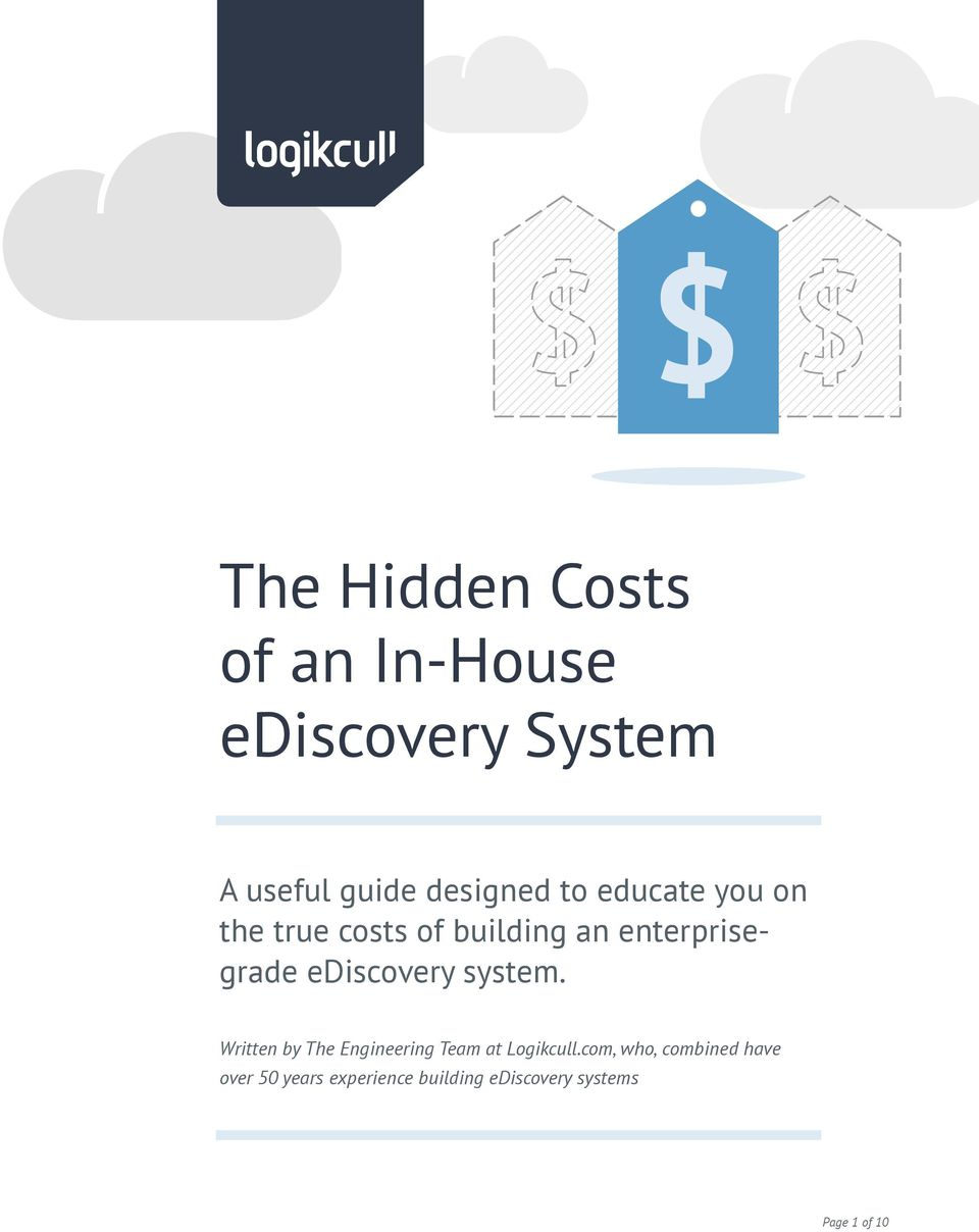 ediscovery system. Written by The Engineering Team at Logikcull.