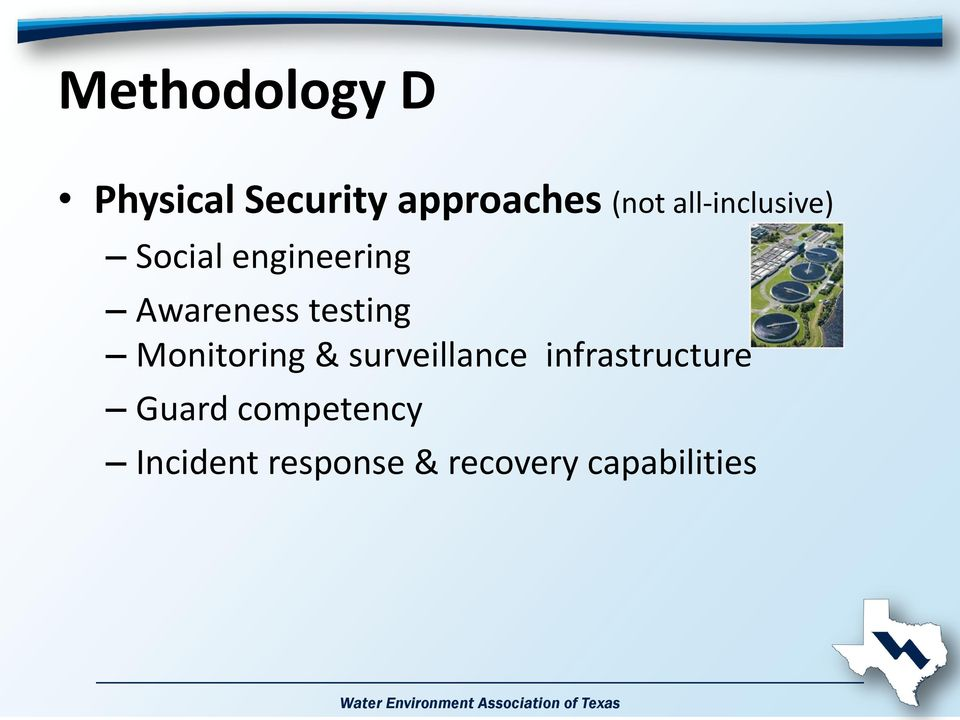 testing Monitoring & surveillance infrastructure
