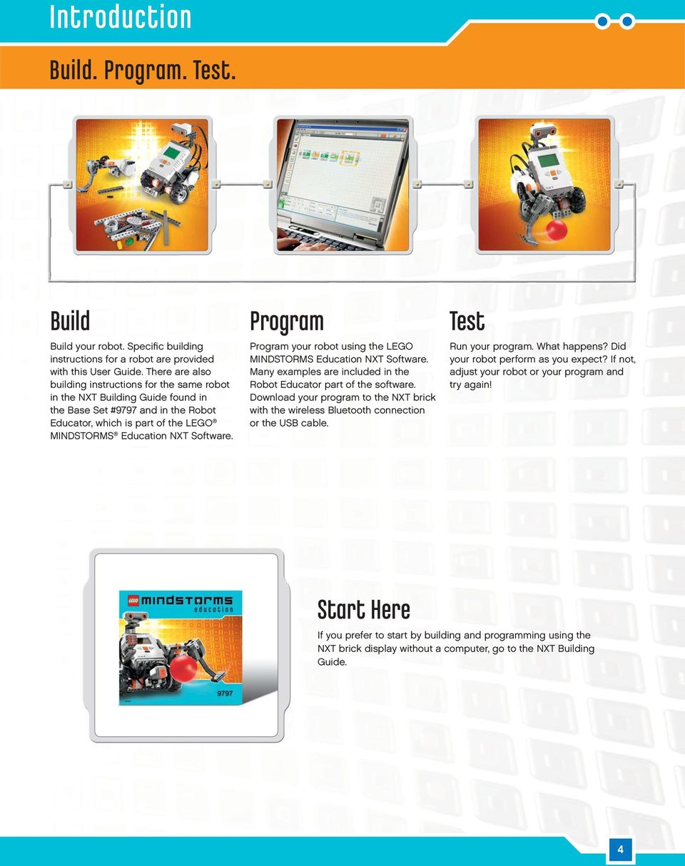 Introduction WELCOME TO LEGO MINDSTORMS EDUCATION - PDF