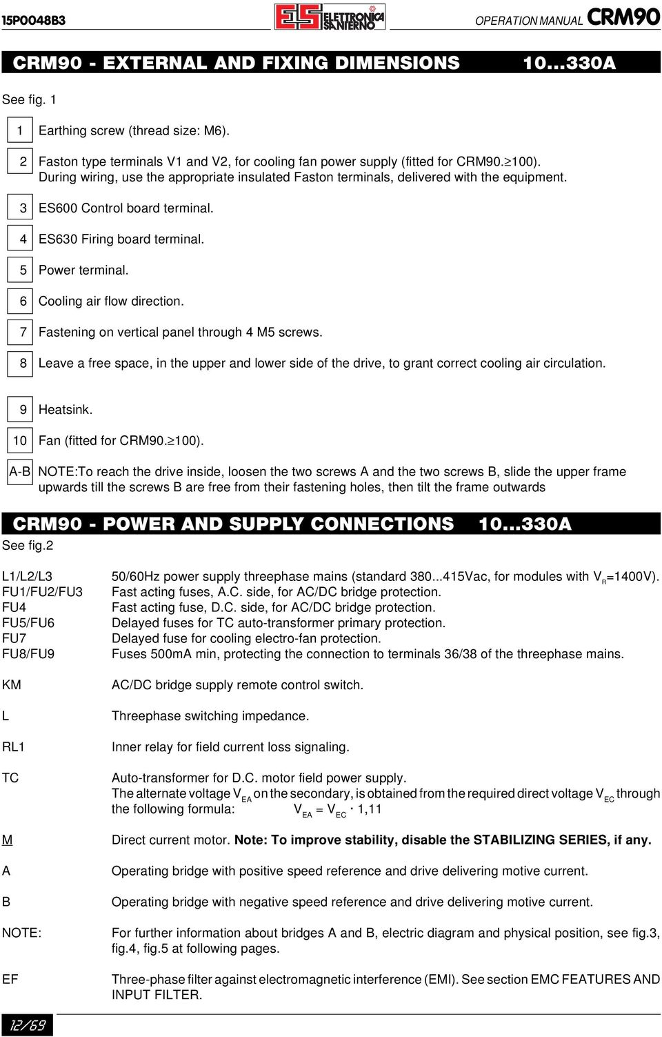 Application Manual English Pdf 3w Led Driver Aka Corbins Board 3 Es600 Control Terminal 4 Es630 Firing 5 Power