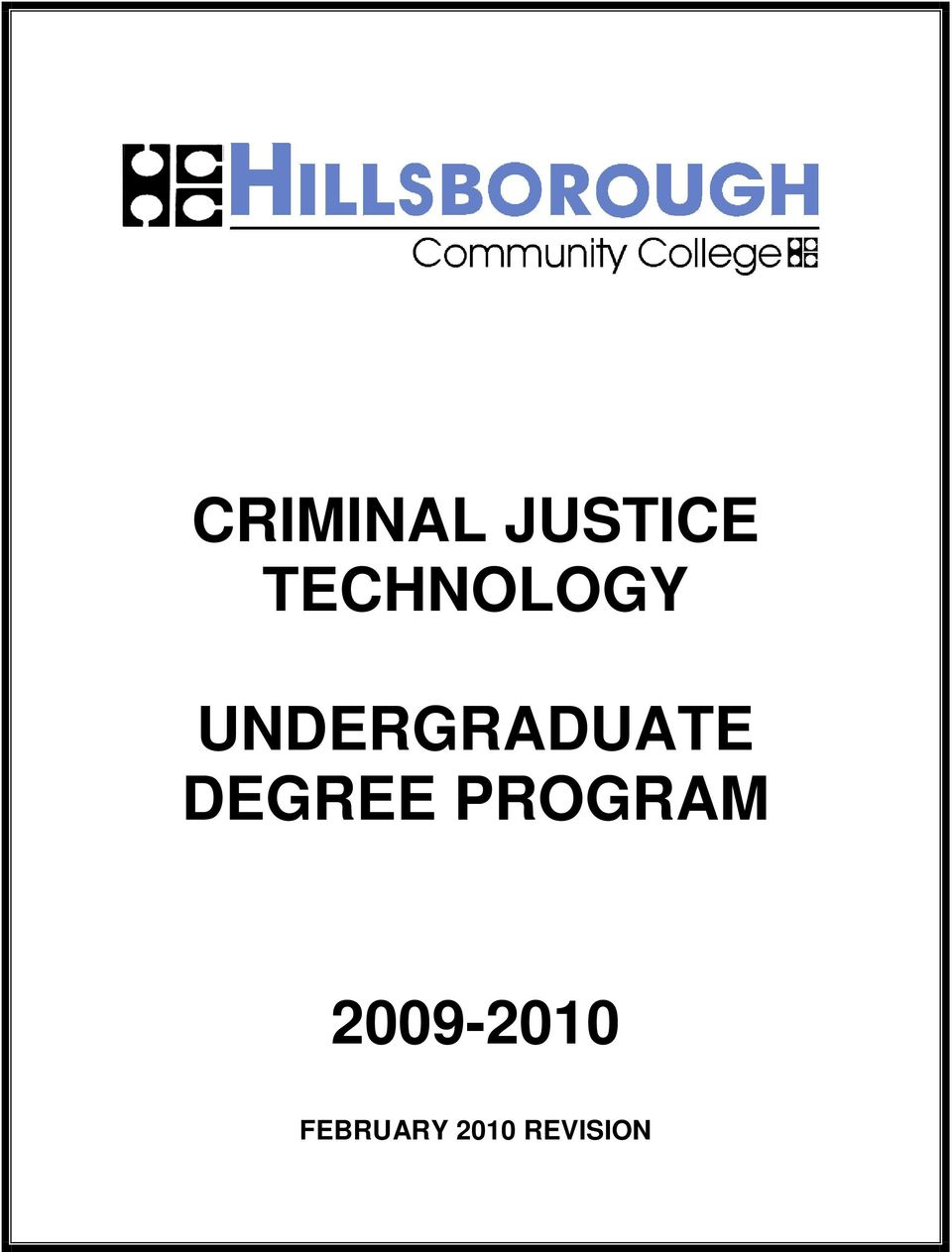 UNDERGRADUATE DEGREE