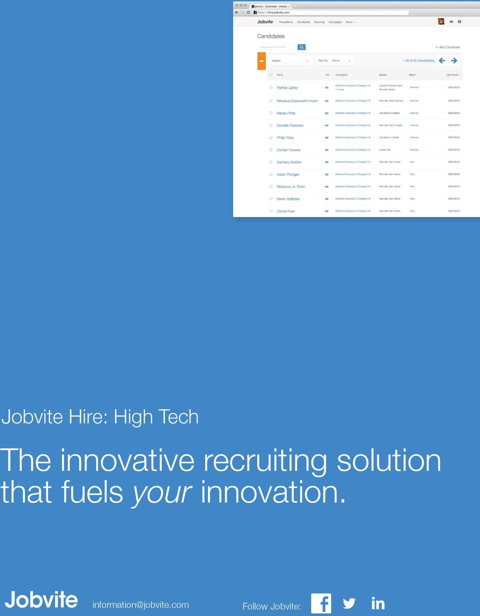 recruiting solution