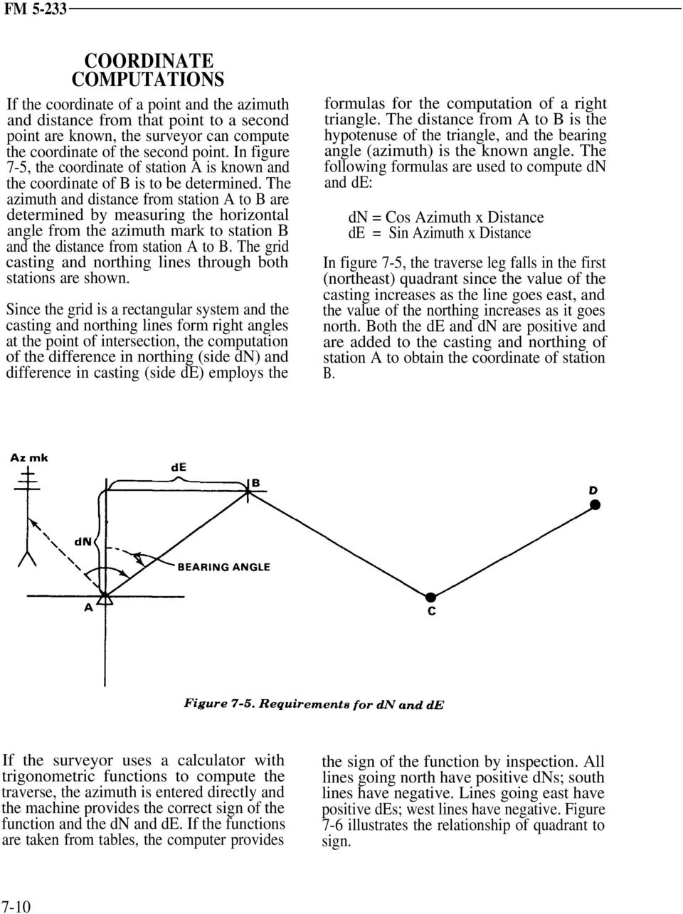 CHAPTER 7 TRAVERSE Section I  SELECTION OF TRAVERSE DEFINITION - PDF