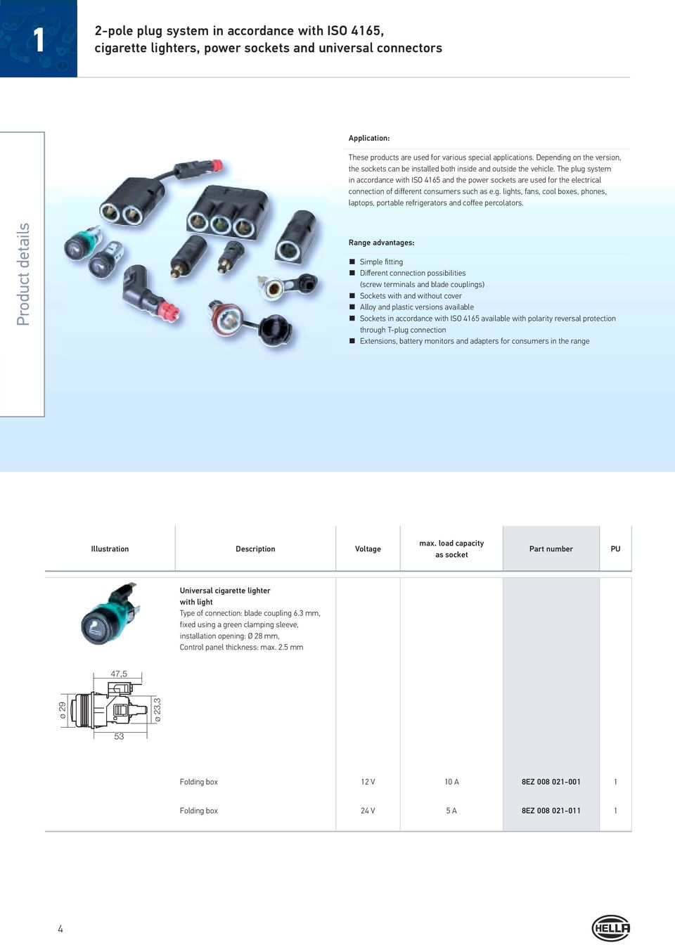 Electrical Plug Type Connections Pdf Easy Wire Power 21mm Dc For Cctv Cameras With Screw Terminals The System In Accordance Iso 4165 And Sockets Are Used