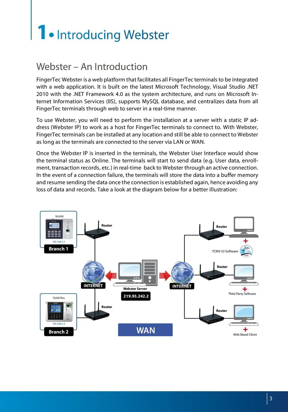 Easy Data Centralization with Webster  User Guide - PDF