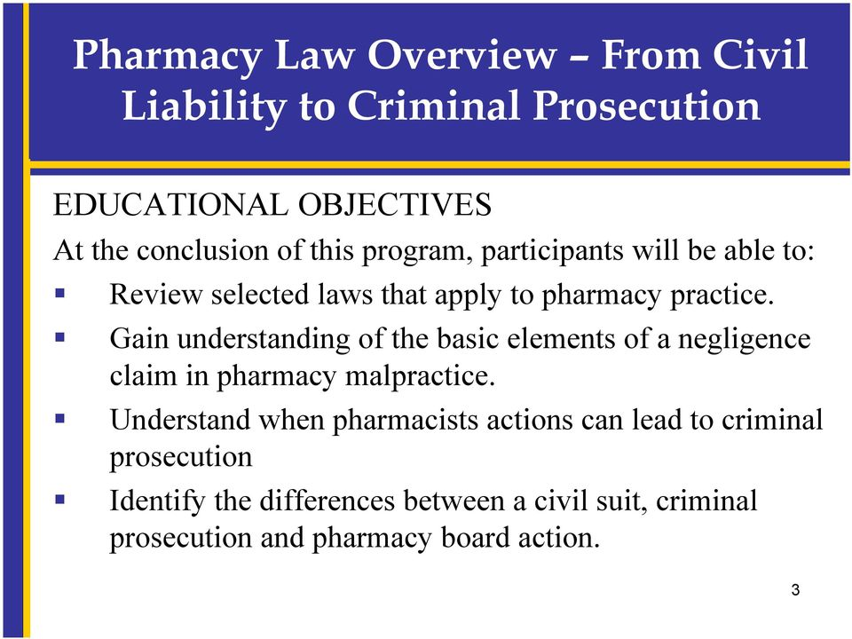 law overview