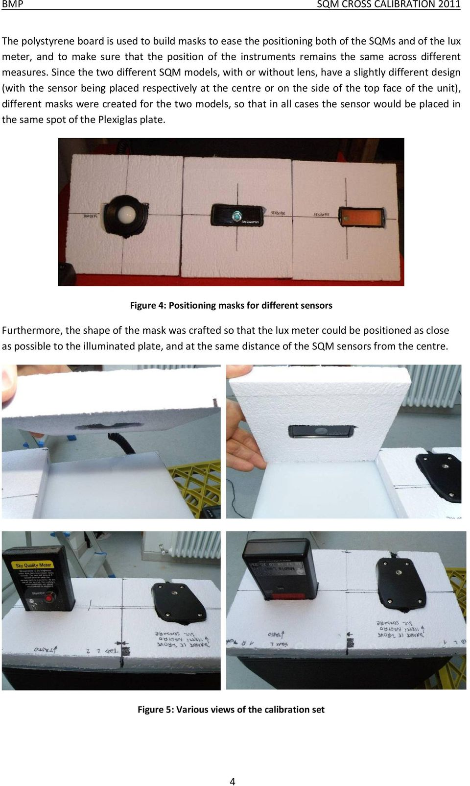 Working paper: Sky Quality Meter cross-calibration in the