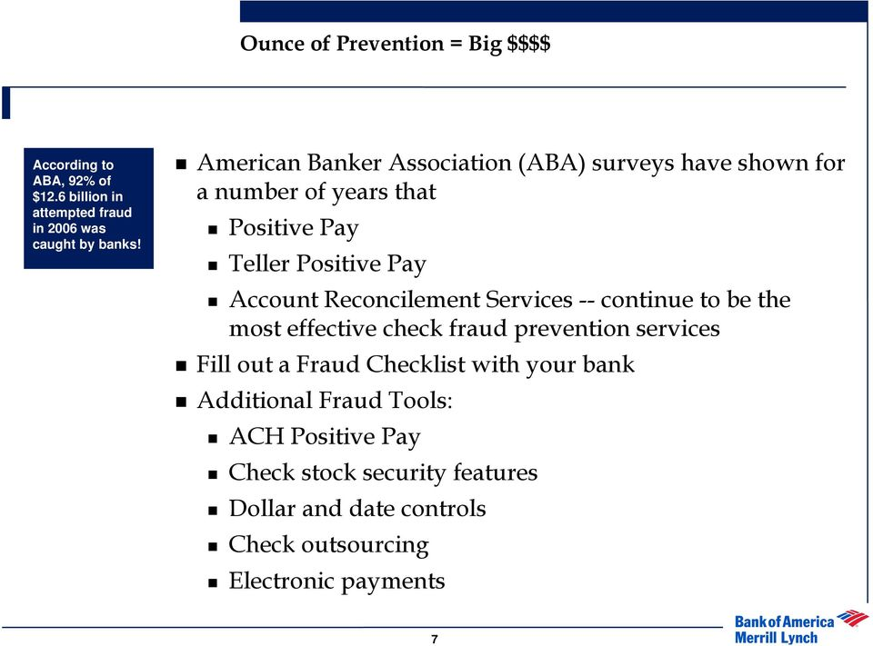 Fraud Protection, You and Your Bank - PDF