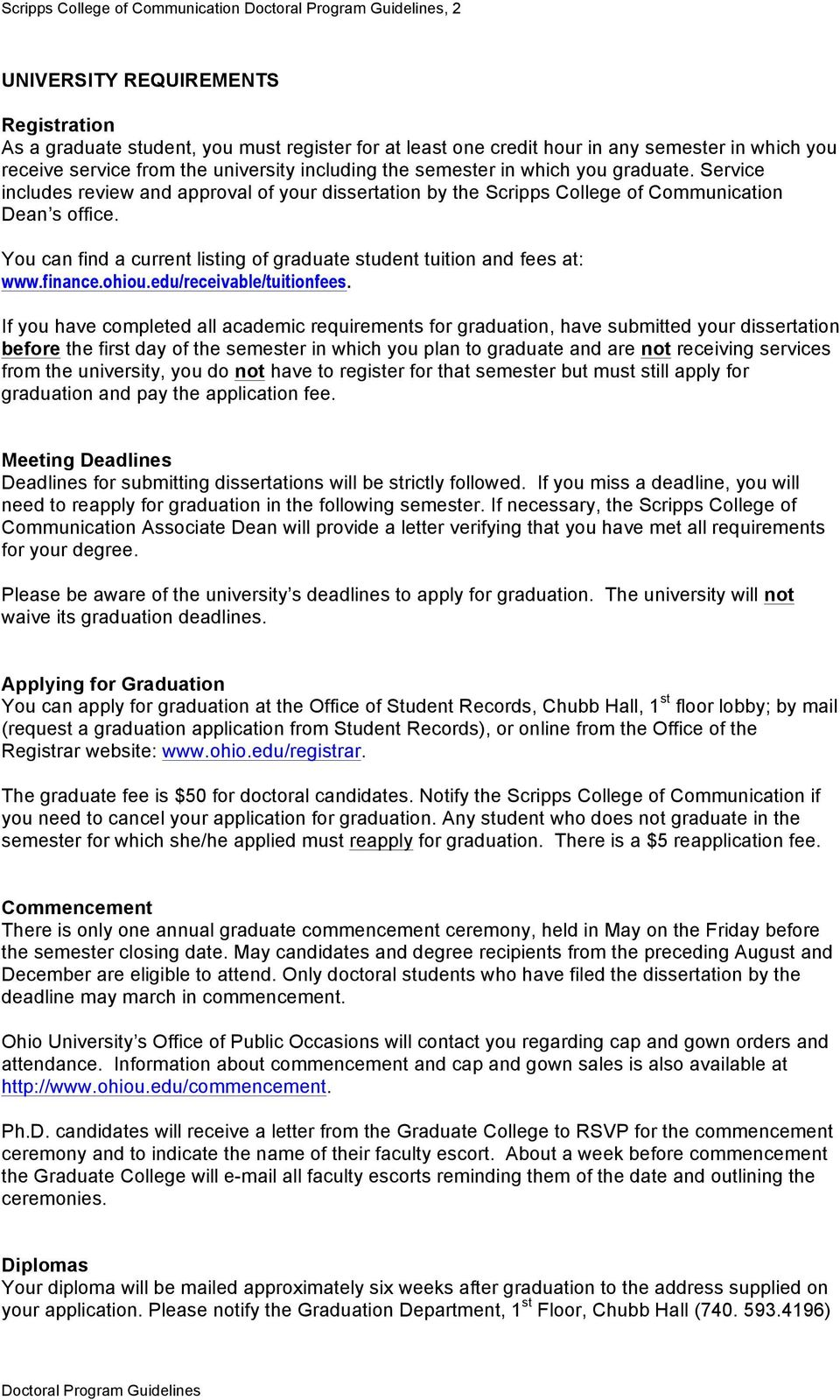 Thesis/Dissertation Instruction Packet